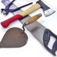 Инструменты для строительства бани