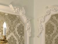 Декорирование стен лепниной