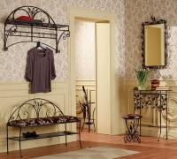 Современный дизайн интерьеров: изделия из кованого железа