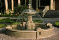 Сооружение дачного фонтана самостоятельно