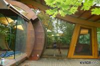 Дом из натурального материала
