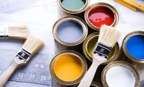 Фасадная краска для внутренних работ