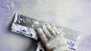 Очистка стен от масляной краски